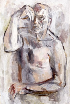 Self-portrait, from Touch of Thought series