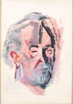 Untitled (Portrait of artist Mark Tobey)