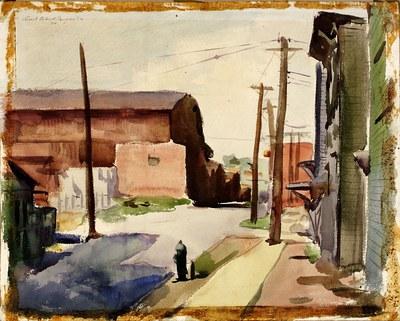 Small Town Street Scene